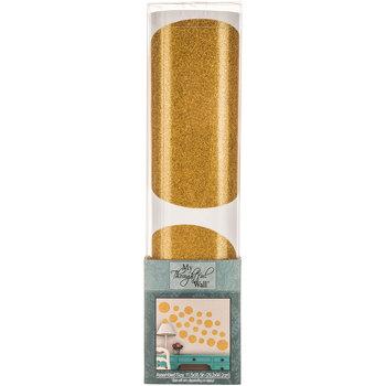 Gold Glitter Dots Vinyl Wall Art Hobby Lobby 1220060